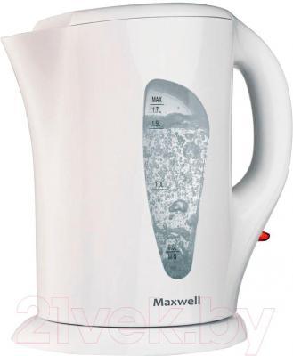 Электрочайник Maxwell MW-1069 W - общий вид