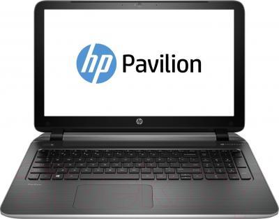 Ноутбук HP Pavilion 15-p059er (J1T92EA) - фронтальный вид