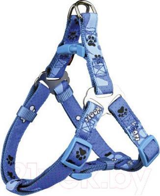 Шлея Trixie Modern Art Harness Woof 15231 (XS-S, голубой) - общий вид
