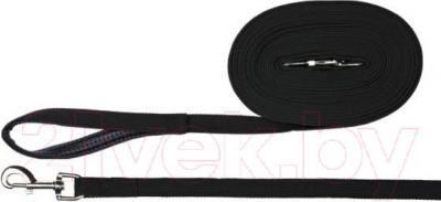 Поводок Trixie Tracking Leads 19911 (черный) - общий вид