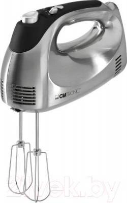 Миксер ручной Clatronic HM 3471 (черный/сталь) - венчики