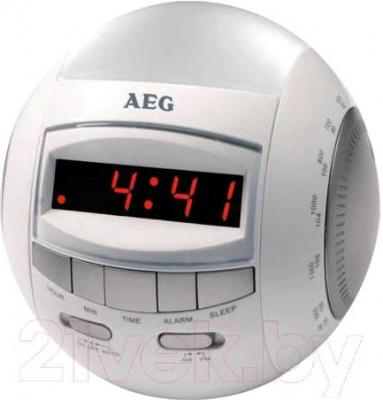 Радиочасы AEG MRC 4109NL (White) - общий вид