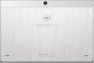Планшет Prestigio MultiPad 4 Diamond 10.1 16GB 3G (PMT7177_3G_D_WH) - вид сзади
