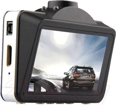 Автомобильный видеорегистратор Supra SCR-880 - дисплей