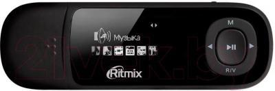 USB-плеер Ritmix RF-3450 (4GB, черный) - общий вид