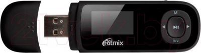 USB-плеер Ritmix RF-3450 (8GB, черный) - общий вид