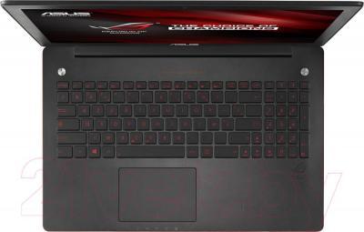 Ноутбук Asus G550JK-CN349D - вид сверху