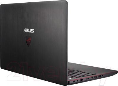 Ноутбук Asus G550JK-CN349D - вид сзади