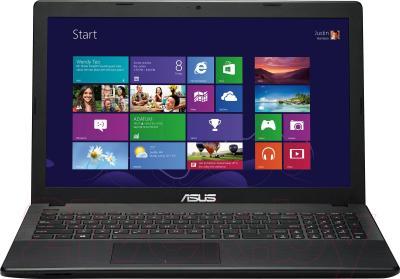 Ноутбук Asus X552EA-SX158D - фронтальный вид