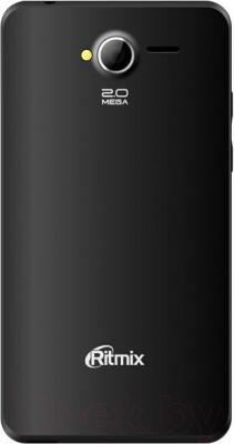 Смартфон Ritmix RMP-405 (черный) - вид сзади