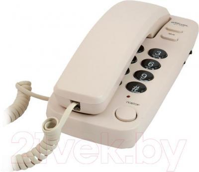 Проводной телефон Ritmix RT-100 (Ivory) - общий вид