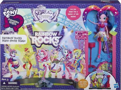 Кукла с аксессуарами Hasbro My Little Pony Equestria Girls Рок-звезды (A8060) - упаковка