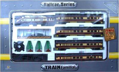 Железная дорога детская Fenfa Современный локомотив (1601B-2B) - общий вид