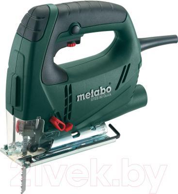 Профессиональный электролобзик Metabo STEB 80 Quick (601041500) - общий вид