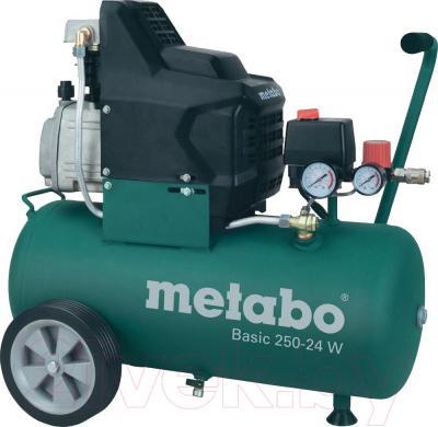 Воздушный компрессор Metabo Basic 250-24 W - общий вид
