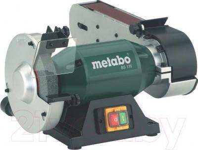 Профессиональный шлифовально-точильный станок Metabo BS 175 (601750000) - общий вид
