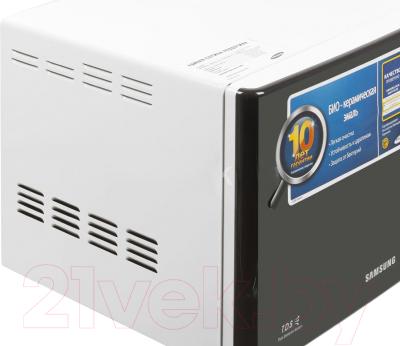 Микроволновая печь Samsung ME712KR/BWT - вид сбоку