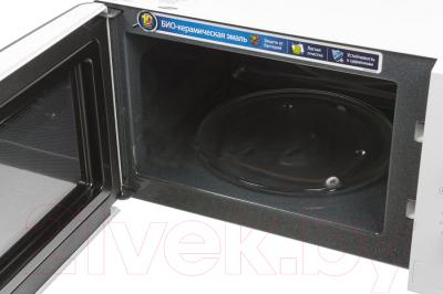Микроволновая печь Samsung ME712KR/BWT - с открытой дверцей