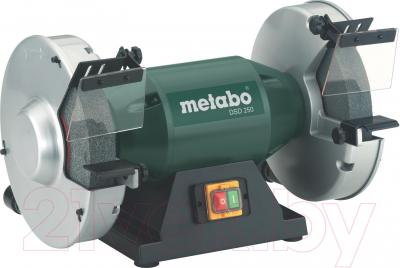 Профессиональный точильный станок Metabo DSD 250 (619250000) - общий вид