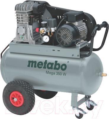 Воздушный компрессор Metabo Mega 350 W (80230035040) - общий вид
