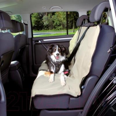 Чехол на сиденье для собак Trixie 13237 (Beige) - общий вид