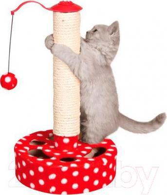 Когтеточка Trixie Play Post 4292 (красно-белый) - общий вид