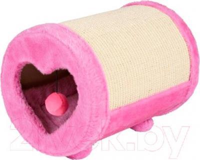 Домик с когтеточкой Trixie Roll 43116 (Pink) - общий вид