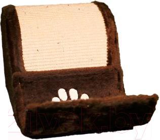 Домик с когтеточкой Trixie Elda 4312 (коричневый) - общий вид