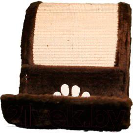 Домик с когтеточкой Trixie Elda 4312 (коричневый) - вид спереди