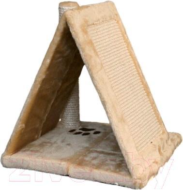 Домик с когтеточкой Trixie Avila 43741 (бежевый) - общий вид