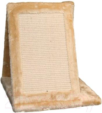Домик с когтеточкой Trixie Avila 43741 (бежевый) - вид сбоку