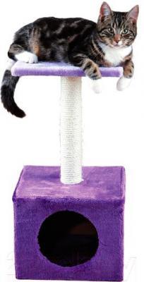 Домик с когтеточкой Trixie Zamora 43357 (фиолетово-лиловый) - общий вид