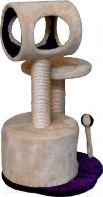 Комплекс для кошек Trixie Lucia 44767 (бежево-фиолетовый) - общий вид