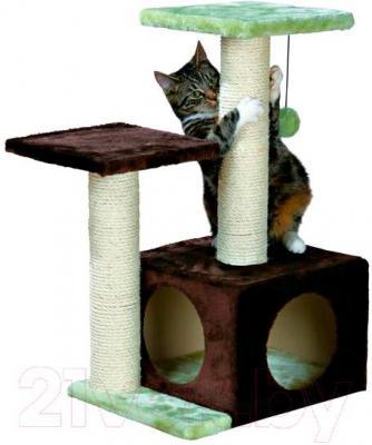 Комплекс для кошек Trixie Valencia 43770 (коричнево-зеленый) - общий вид