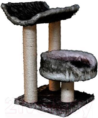 Комплекс для кошек Trixie Isaba 44567 (черно-белый) - общий вид