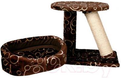 Когтеточка с лежанкой Trixie Cabra 44520 (Brown) - общий вид
