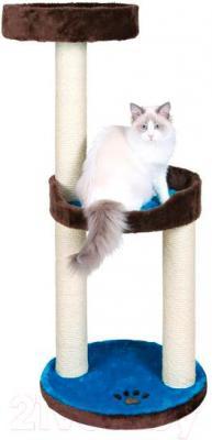Комплекс для кошек Trixie Lugo 43870 (коричнево-бирюзовый) - общий вид