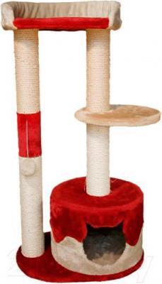 Комплекс для кошек Trixie Pilar 44821 (бежево-красный) - общий вид