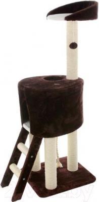 Комплекс для кошек Trixie Rolanda 44460 (коричнево-белый) - общий вид