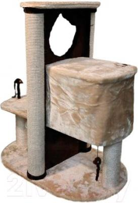 Комплекс для кошек Trixie Amelia 44791 (бежево-коричневый) - общий вид