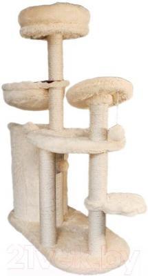 Комплекс для кошек Trixie Marta 44601 (бежево-бордовый) - общий вид