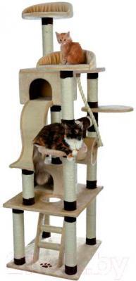 Комплекс для кошек Trixie Adiva 43691 (бежево-коричневый) - общий вид