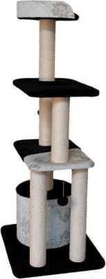 Комплекс для кошек Trixie Gaspard 44587 (Black-White-Silver) - общий вид