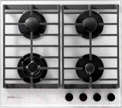 Газовая варочная панель Gorenje GKTG6SY2W - общий вид