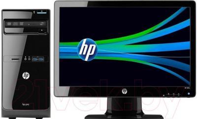 Готовое рабочее место HP Pro 3500 MT (G9E21EA) - общий вид
