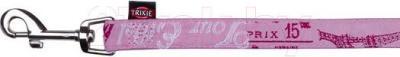 Поводок Trixie Modern Art Paris 13801 (XS-S, розовый) - общий вид