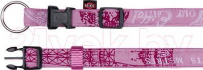 Ошейник Trixie Modern Art Collar Paris 13809 (M-L, розовый) - общий вид