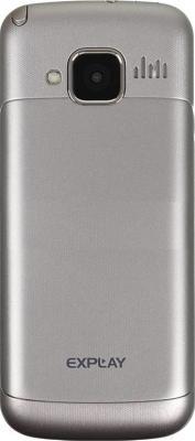 Мобильный телефон Explay T1000 (Silver) - вид сзади