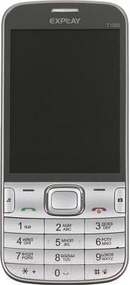 Мобильный телефон Explay T1000 (Silver) - общий вид