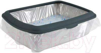 Сменные пакеты для туалета Trixie 4043 (10шт) - способ использования